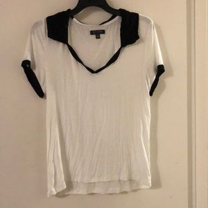 Relaxed Collar American Eagle Tee